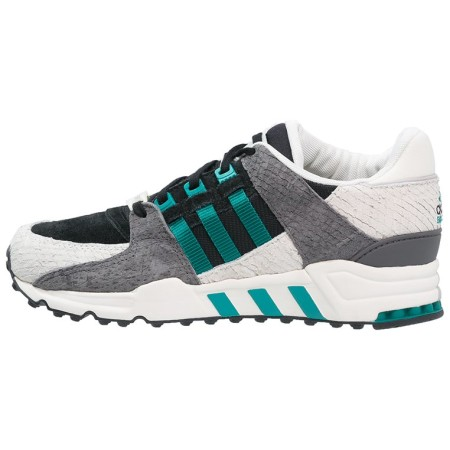 adidas Originals EQUIPMENT SUPPORT 93 Sneakers laag core black/green/offwhite - Design Collect
