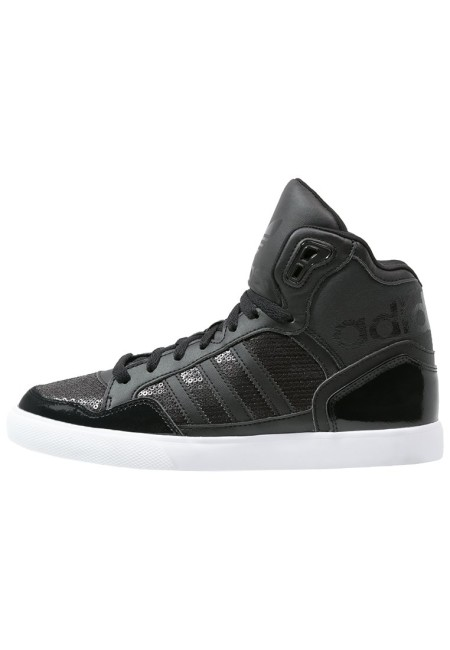 adidas Originals EXTABALL Sneakers hoog core black/white - Design Collect