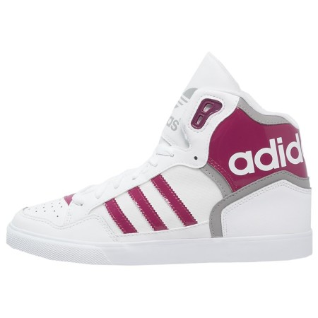 adidas Originals EXTABALL Sneakers hoog white/berry/solid grey - Design Collect