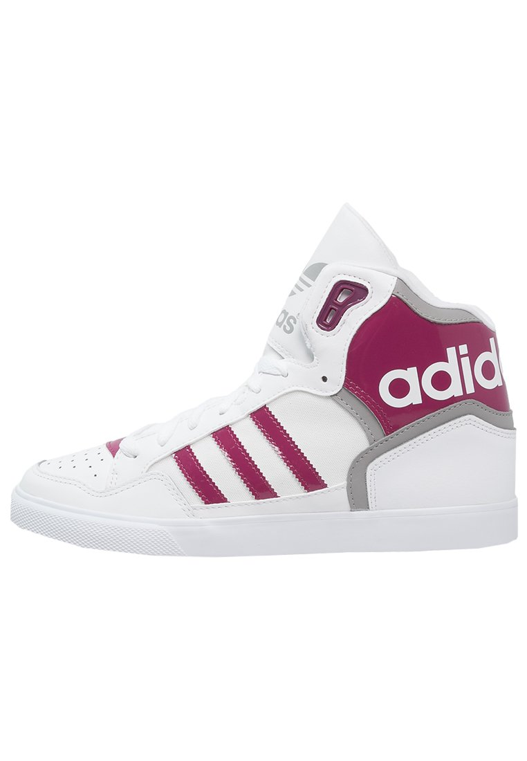 adidas Originals EXTABALL Sneakers hoog white/berry/solid grey