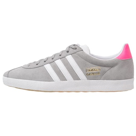adidas Originals GAZELLE Sneakers laag solid grey/white/solar pink - Design Collect
