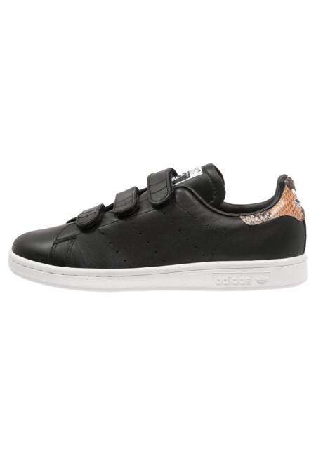 adidas Originals STAN SMITH Sneakers laag core black/white - Design Collect