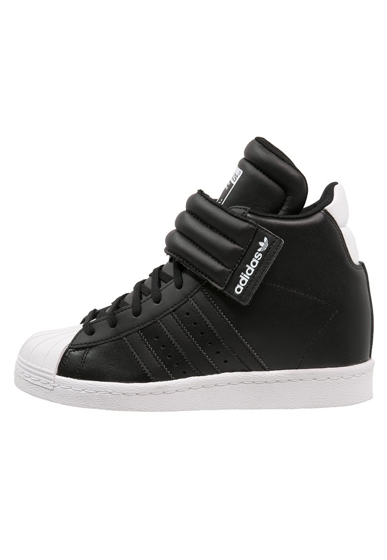adidas Originals SUPERSTAR UP Sneakers hoog core black/white