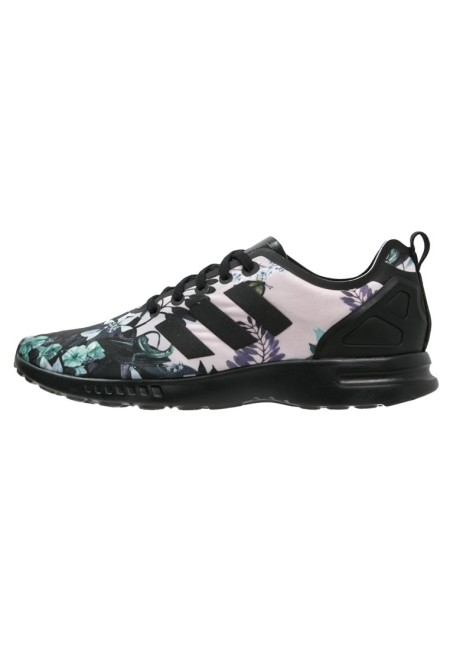 adidas Originals ZX FLUX SMOOTH Sneakers laag core black - Design Collect