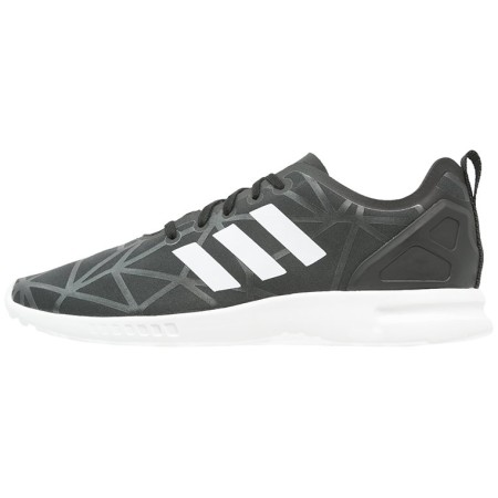 adidas Originals ZX FLUX SMOOTH Sneakers laag core black/core white - Design Collect