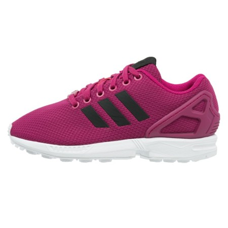 adidas Originals ZX FLUX Sneakers laag power pink/core black/white - Design Collect