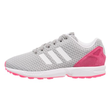 adidas Originals ZX FLUX Sneakers laag solid grey/white/solar pink - Design Collect